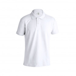 Polo Adulto Blanco keya